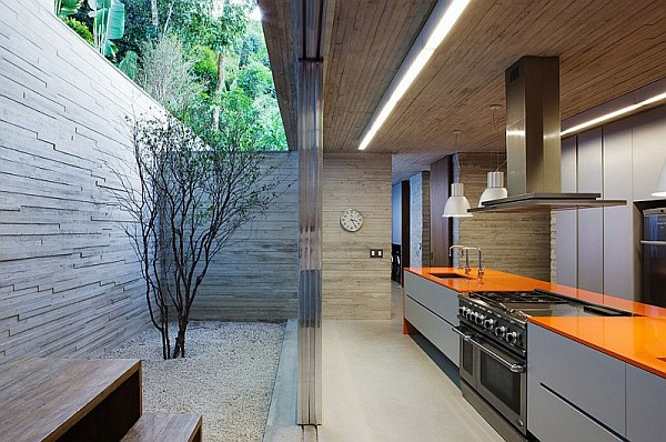 modern summer kitchen