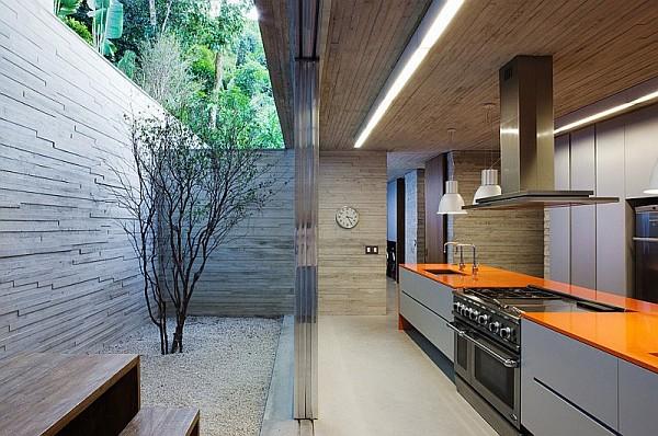 modern summer kitchen