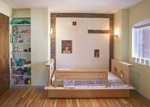 modern toddler bed