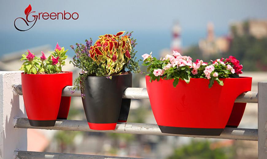 GreenBo Railing Planters Integrate Ecology with Contemporary Design & Urban Ergonomics