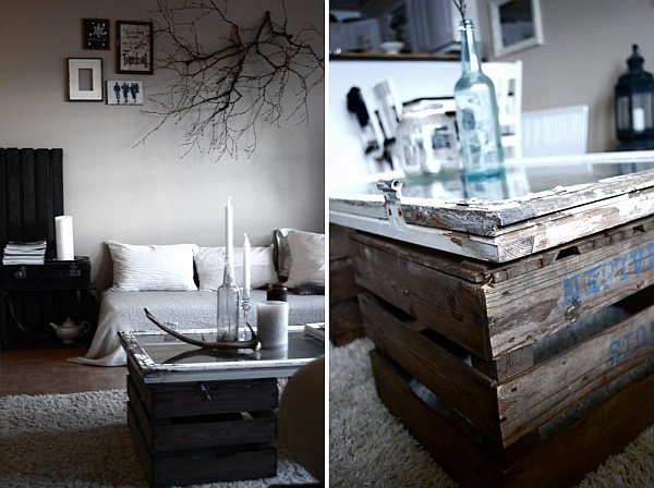 Repurposed window into fancy DIY coffee table