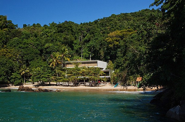rio de janeiro beach house Paraty House in Rio brings indulgent dreams alive with the sea, sand and stunning views