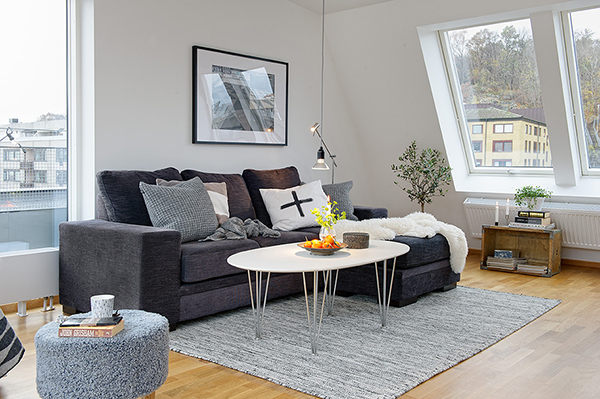 Chic And Timeless Nordic Apartment Design  Design Ideas for House