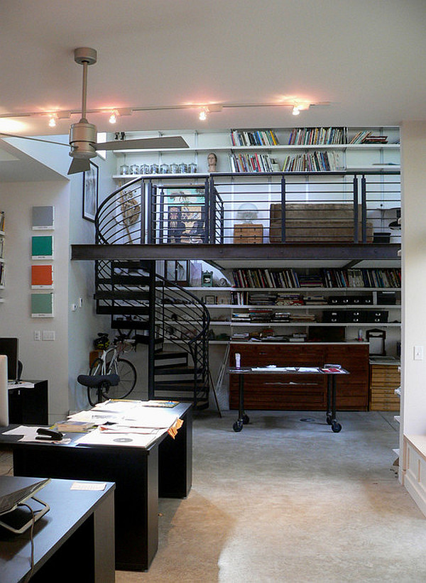 Home Office And Studio Designs: Creative Studies And Studios Designs In Lofts