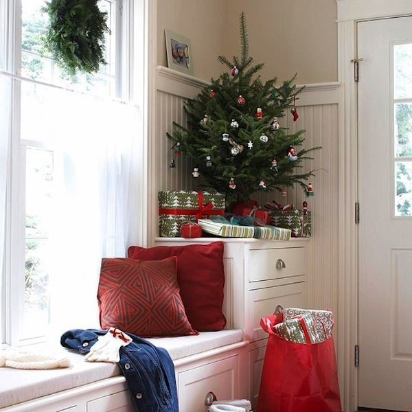 View In Gallery Space Saving Christmas Tree Table Top
