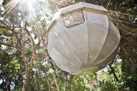 Cocoon Tree Tent: Gorgeous Hammock Tent Encased in Cozy Luxury