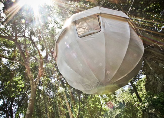 Cocoon Tree Tent: Gorgeous Hammock Tent Encased in Cozy Luxury