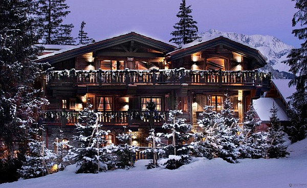 the petit chateau luxury chalet in courchevel Chalet le Petit Chateau in the French Alps Promises to Pamper Your Senses in Luxury