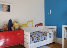 toddler bedding color