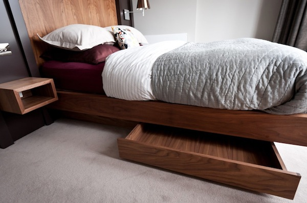 Creative Under Bed Storage Adds Space to Your Bedroom
