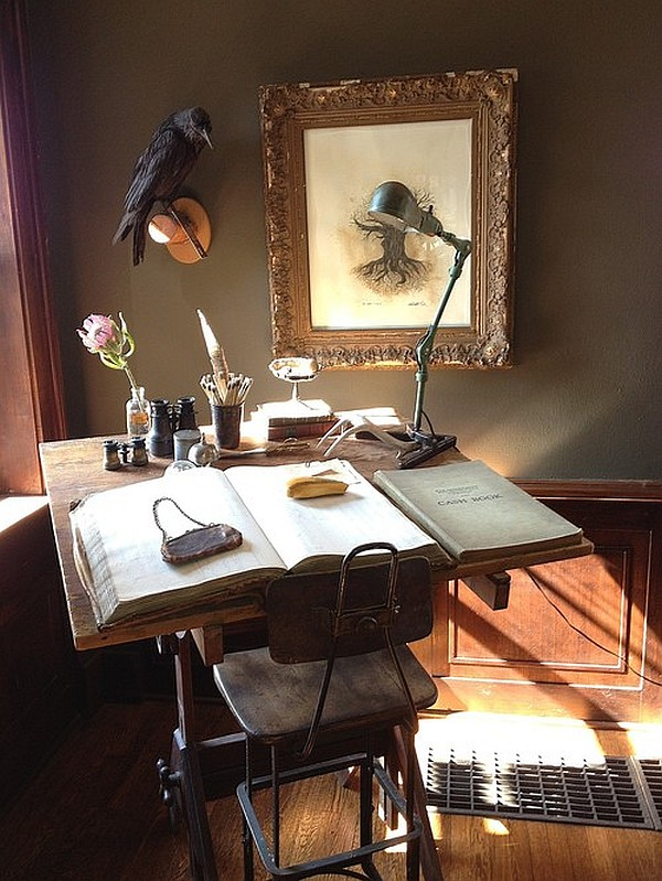 Vintage Home Office Desks Category