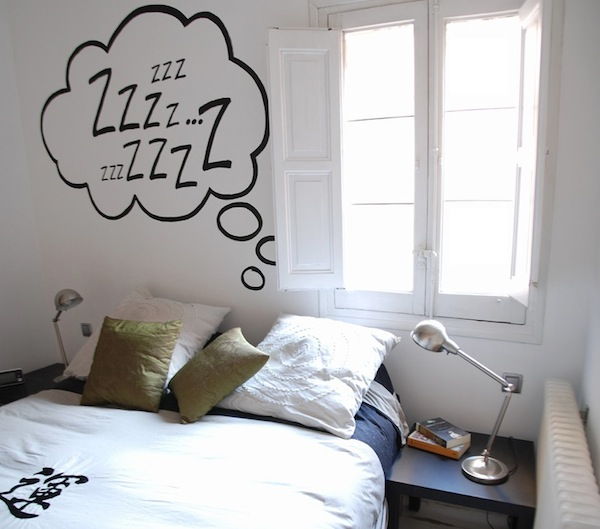 wall decal bedroom idea