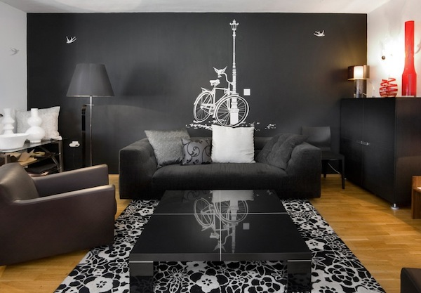 wall decal ideas gray Adding Character To Your Interiors With Wall Decals