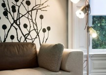 wall decal modern living room