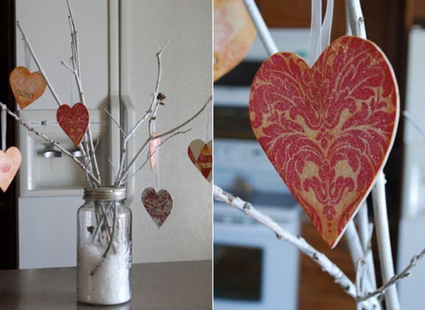 A Valentine Tree to help express your love with a natural twist!