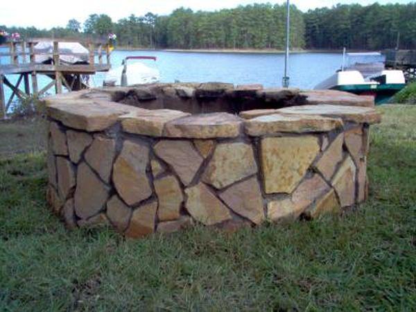 DIY Inspiring Fire Pit Designs