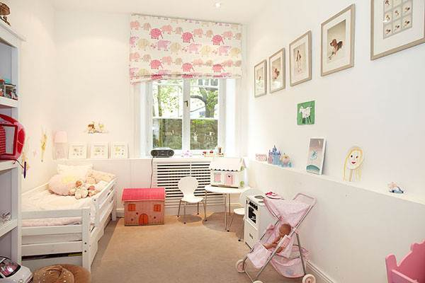 Animal-themed girl's room