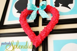 DIY Valentine's Day Heart-Shaped Crafts That Say I Love You