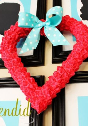 Awesome Valentine Mantel to welcome home the season of love