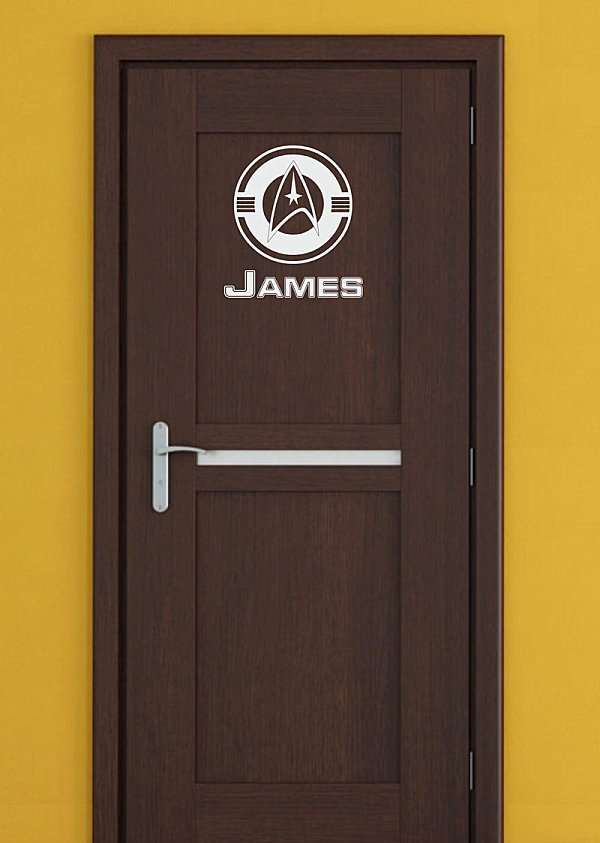 Door Decals Give Life to Your Home Design 102422889