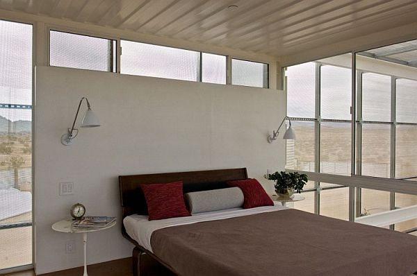 Bedrooms that offer an unabated view