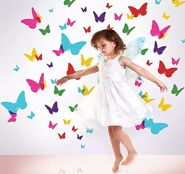 Butterfly wall decals 20 Creative Wall Decals for Kids