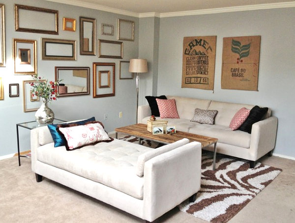 How to decorate a small living room Loungers for living room