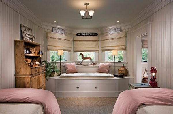 24 cool trundle beds for your kids room for Custom bedroom designs