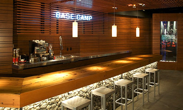view in gallery coffee bar in alberta - Commercial Bar Design Ideas
