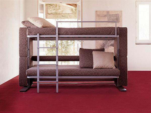 Convertible bunk beds