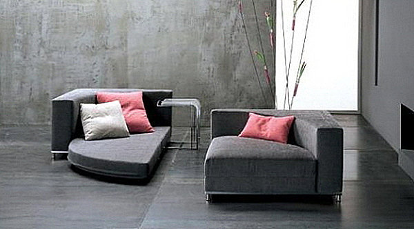 Convertible sleeper sofa chairs