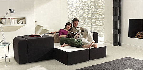 Convertible sofa seating