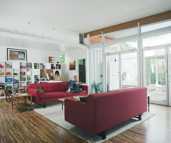 Shipping Container Home Interior 600 x 502
