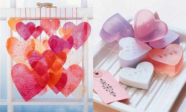 Crayon Hearts and Heart Strings can be crafted in more ways than one