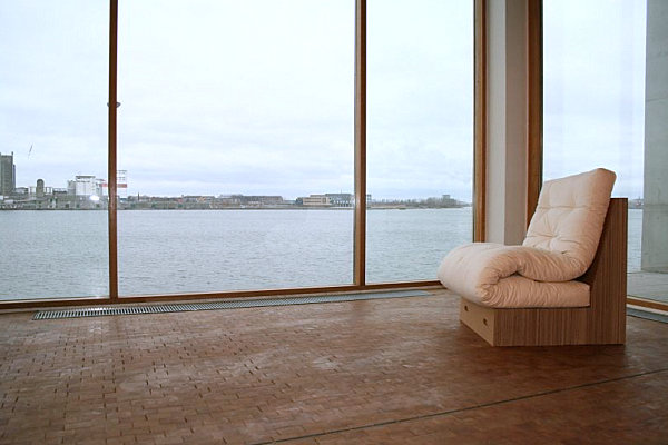 Ecochair transforms into a bed