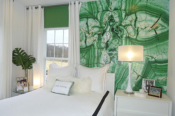 Emerald bedroom Eye Catching Paint Colors for the Bedroom
