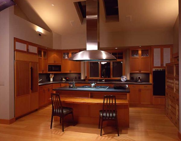 Ergonomic Asian kitchen with ample space