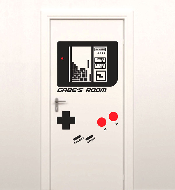View In Gallery Game Console Wall Decal