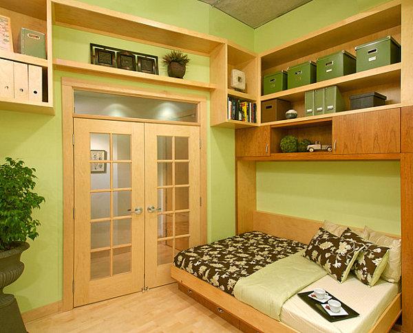 Hideaway twin bed