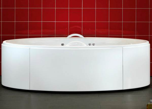 Hydromassage bathtub for two Stunning Bathtubs for Two