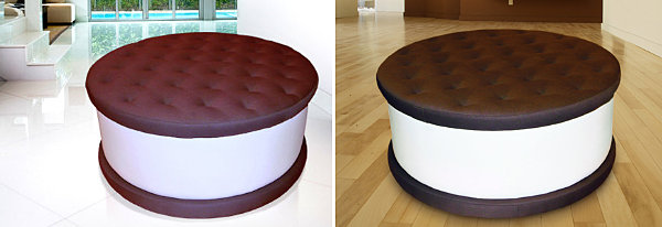 Ice cream sandwich table