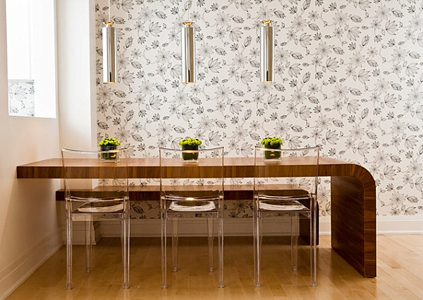 22 space saving furniture ideas for Space saving dining table