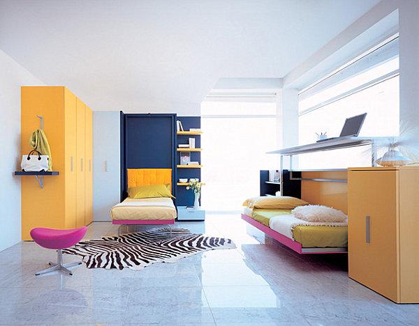 View In Gallery Modern Hideaway Bed For Kids
