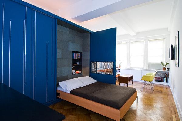Modern hideaway bed
