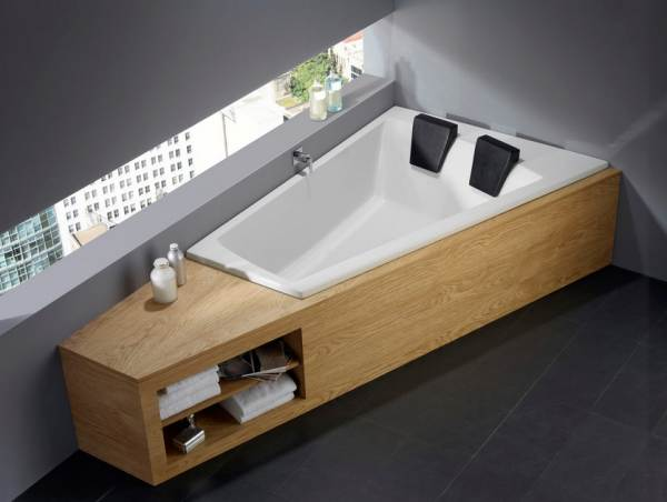 Modern two-seater tub