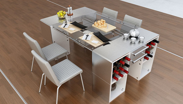 View In Gallery Multi Functional Dining Table