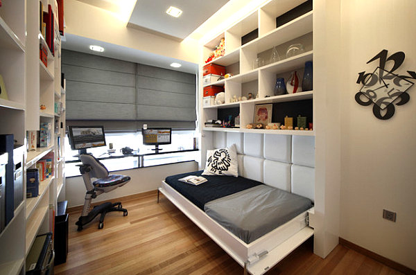 Office twin hideaway bed