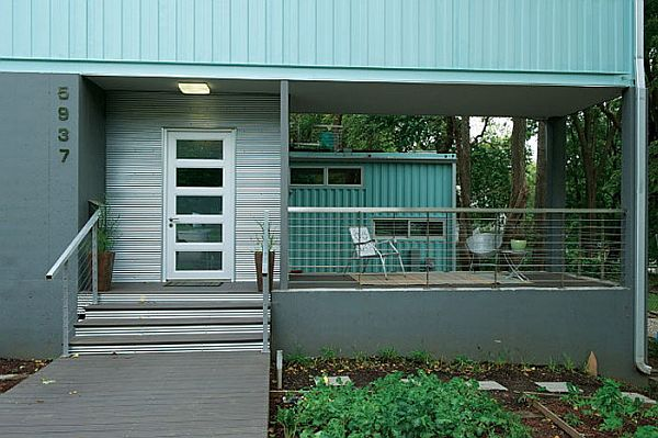 Prefab shipping container home from Home Contained
