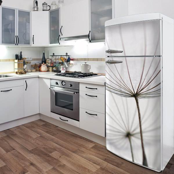 Refrigerator door decal