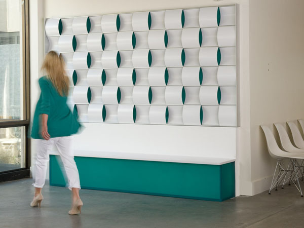 Ripple walls and tiles 2 The Rippling Effect And a Bold Design Statement for Your Home